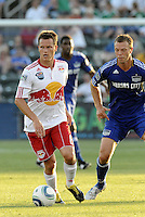 Seth Stammler, Jack Jewsbury...Kansas City Wizards were defeated 3-0 by New York Red Bulls at Community America Ballpark, Kansas City, Kansas.