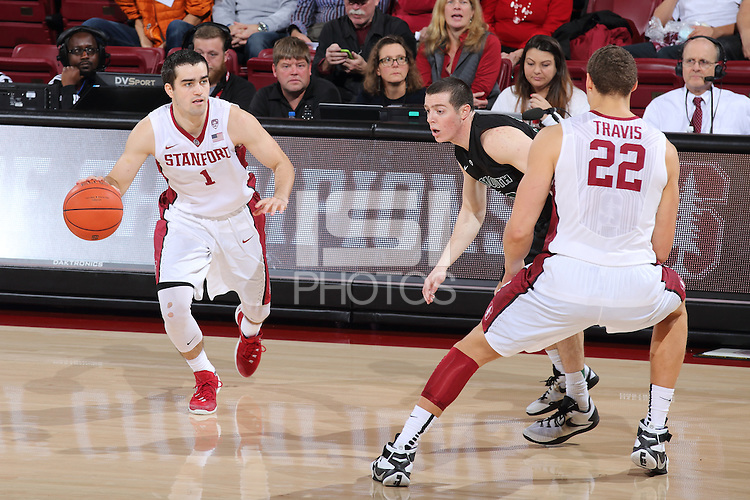 STANFORD, CA - December 12, 2015: Stanford Cardinal defeat Dartmouth 64-50 at Maples Pavilion.