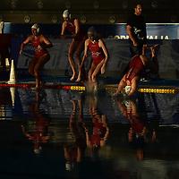 Florentia tuffo in acqua <br /> Roma 05/01/2019 Centro Federale  <br /> Final Six Pallanuoto Donne Coppa Italia <br /> RN Florentia - Kally NC Milano Finale 5-6 posto<br /> Foto Andrea Staccioli/Deepbluemedia/Insidefoto