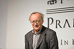 Austrian pianist Alfred Brendel, who resides in the U.K., attends a media event formally announcing the winners of this year's Praemium Imperiale, a global arts prize that is awarded annually, in Tokyo, Japan on Wed., Oct. 21 2009. Other winners included Britions playwright Tom Stoppard, sculptor Richard Long and architect Zaha Hadid..Photographer: Robert Gilhooly