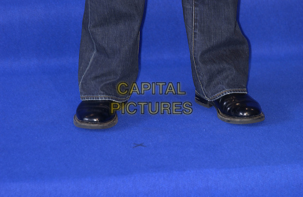 "TOM HANKS .Screening of ""The Terminal"".Deauville Film Festival, France, 4th September 2004..shoes.Ref: PL.www.capitalpictures.com.sales@capitalpictures.com.©Capital Pictures."