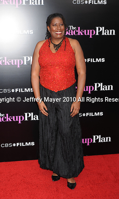 """WESTWOOD, CA. - April 21: Carlease Burke attends the """"The Back-Up Plan"""" Los Angeles Premiere at Regency Village Theatre on April 21, 2010 in Westwood, California."""