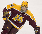 Justin Bostrom - The University of Minnesota Golden Gophers defeated the University of North Dakota Fighting Sioux 4-3 on Saturday, December 10, 2005 completing a weekend sweep of the Fighting Sioux at the Ralph Engelstad Arena in Grand Forks, North Dakota.
