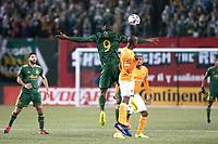 Portland, Oregon - Saturday, March 18, 2017: Portland Timbers vs Houston Dynamo at Providence Park. Final Score: Portland Timbers 4, Houston Dynamo 2
