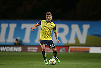 Josh Ruffels of Oxford United makes his 100th appearance for the club during the The Checkatrade Trophy match between Oxford United and Exeter City at the Kassam Stadium, Oxford, England on 30 August 2016. Photo by Andy Rowland / PRiME Media Images.
