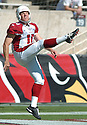 Scott Player, of the Arizona Cardinals, in action  during thier game against the Tennessee Titans on October 23, 2005...Titans win 10-0...Nils Nilson / SportPics