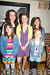 .FRIENDS: Friends joined Sophie Moriarty in The Spa Seafood..Restaurant,The Spa, Tralee on Friday after her confirmation in the..Church of the Purification, Churchill on Friday Abbi Moriarty, kate..Kelly,Sophie Moriarty, Liou Le Prince and Ellen Moriarty.