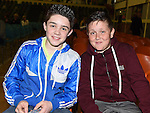 Daniel Gillispie and Taylor Diamond pictured at The Cube in Ardee Parish Centre. Photo:Colin Bell/pressphotos.ie