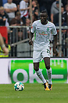 22.07.2017, Millerntor-Stadion, Hamburg, GER, FSP, FC St. Pauli vs SV Werder Bremen<br /> <br /> im Bild<br /> Lamine San&eacute; / Sane (Werder Bremen #26) am Ball, <br /> <br /> Foto &copy; nordphoto / Ewert