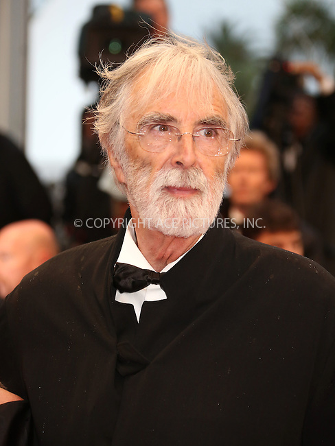 WWW.ACEPIXS.COM . . . . .  ..... . . . . US SALES ONLY . . . . .....May 20 2012, Cannes....Michael Haneke at the premiere of 'Amour' during the Cannes Film Festival on May 20 2012 in France ....Please byline: FAMOUS-ACE PICTURES... . . . .  ....Ace Pictures, Inc:  ..Tel: (212) 243-8787..e-mail: info@acepixs.com..web: http://www.acepixs.com