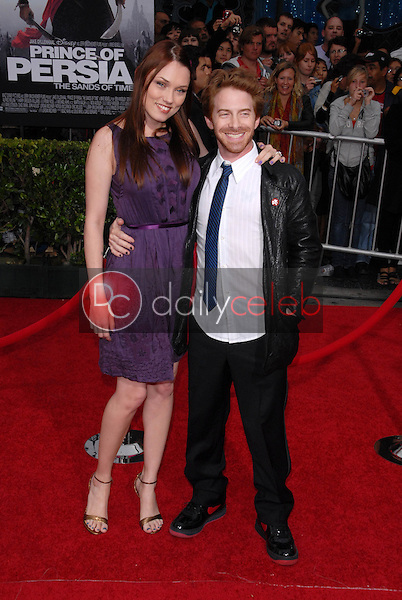 Clare Grant and Seth Green<br />