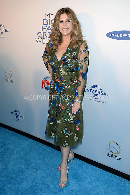 WWW.ACEPIXS.COM<br /> March 15, 2016 New York City<br /> <br /> Rita Wilson attending the 'My Big Fat Greek Wedding 2' New York premiere at AMC Loews Lincoln Square 13 theater on March 15, 2016 in New York City.<br /> <br /> <br /> <br /> Credit: Kristin Callahan/ACE Pictures<br /> Tel: (646) 769 0430<br /> e-mail: info@acepixs.com<br /> web: http://www.acepixs.com