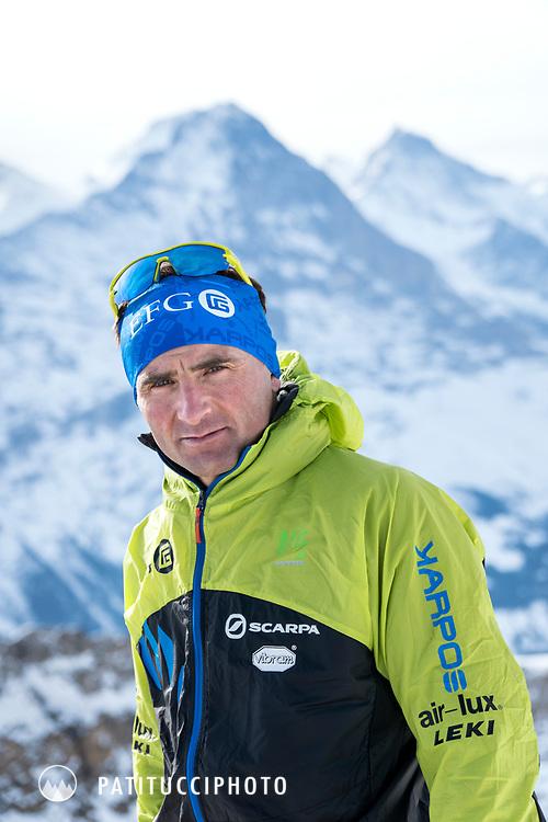 Ueli Steck portrait, January 2017
