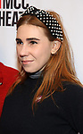 """Zosia Mamet attends MCC Theater's Inaugural All-Star  """"Let's Play! Celebrity Game Night"""" at the Garage on November 03, 2019 in New York City."""