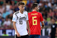 Luca Waldschmidt of Germany and Fabian Ruiz of Spain <br /> Udine 30-06-2019 Stadio Friuli <br /> Football UEFA Under 21 Championship Italy 2019<br /> final<br /> Spain - Germany<br /> Photo Cesare Purini / Insidefoto