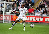 Pictured: Ashley William of Swansea City in action <br /> Re: Coca Cola Championship, Swansea City Football Club v Southampton at the Liberty Stadium, Swansea, south Wales 25 October 2008.<br /> Picture by Dimitrios Legakis Photography, Swansea, 07815441513