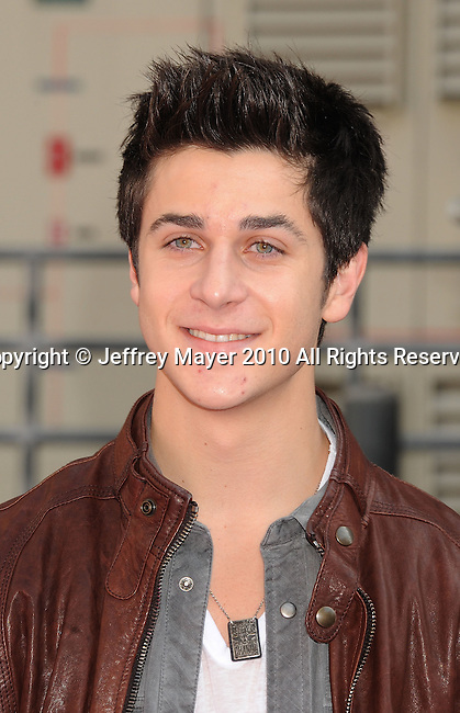 HOLLYWOOD, CA. - October 24: David Henrie arrives at Variety's 4th Annual Power of Youth event at Paramount Studios on October 24, 2010 in Hollywood, California.