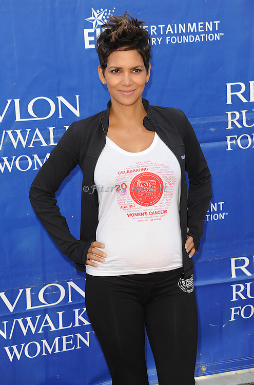 """Halle Berry at the """"20th Annual EIF Revlon Run/Walk For Women"""" held at the Los Angeles Memorial Coliseum at Exposition Park on May 11, 2013."""