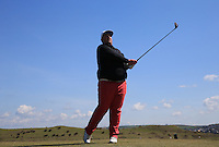 Robert Parker during Round Two of the West of England Championship 2016, at Royal North Devon Golf Club, Westward Ho!, Devon  23/04/2016. Picture: Golffile | David Lloyd<br /> <br /> All photos usage must carry mandatory copyright credit (&copy; Golffile | David Lloyd)