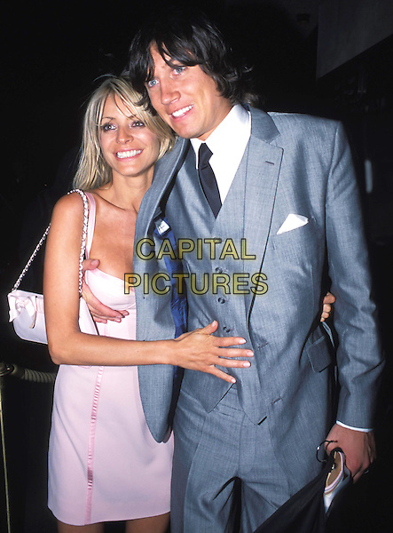"""TESS DALY & VERNON KAY.""""Fashion Rocks Party"""", Babylon, Kensington.look closer - touching boob! funny.www.capitalpictures.com.sales@capitalpictures.com.© Capital Pictures."""