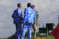 Fan wear during Wednesday's Practice Day of the 117th U.S. Open Championship 2017 held at Erin Hills, Erin, Wisconsin, USA. 14th June 2017.<br /> Picture: Eoin Clarke | Golffile<br /> <br /> <br /> All photos usage must carry mandatory copyright credit (&copy; Golffile | Eoin Clarke)