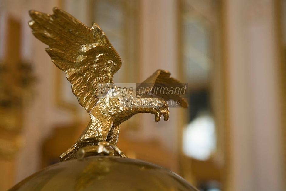 Europe/République Tchèque/Prague: La Maison Municipale-Edifice Art Nouveau qui se dresse  à l'emplacement de l'ancien Palais Royal-détail du Salon de Thé ou Patisserie
