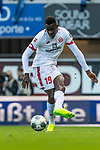 05.10.2019, Benteler Arena, Paderborn, GER, 1.FBL, SC Paderborn 07 vs 1. FSV Mainz 05<br /><br />DFL REGULATIONS PROHIBIT ANY USE OF PHOTOGRAPHS AS IMAGE SEQUENCES AND/OR QUASI-VIDEO.<br /><br />im Bild / picture shows<br />Moussa Niakhate / Niakhaté (FSV Mainz 05 #19), <br /><br />Foto © nordphoto / Ewert