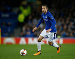 Gylfi Sigurdsson of Everton during the Europa League Group E match at Goodison Park Stadium, Liverpool. Picture date: September 28th 2017. Picture credit should read: Simon Bellis/Sportimage