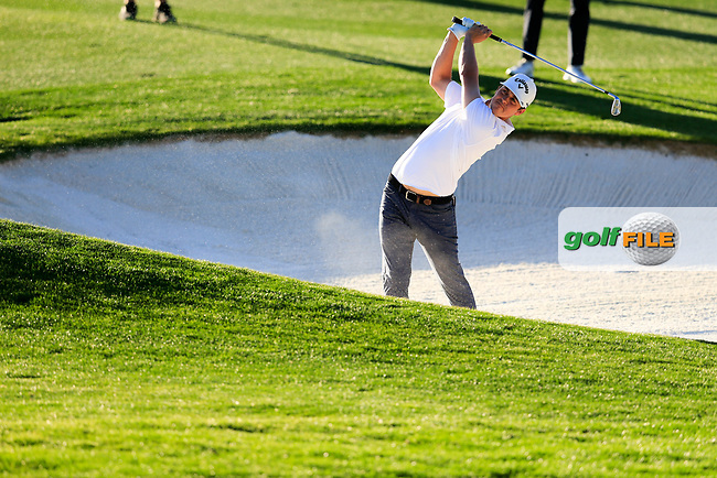 Cody Gribble (USA) during the 1st round of the Waste Management Phoenix Open, TPC Scottsdale, Scottsdale, Arisona, USA. 31/01/2019.<br /> Picture Fran Caffrey / Golffile.ie<br /> <br /> All photo usage must carry mandatory copyright credit (© Golffile | Fran Caffrey)