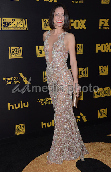 10 January  - Beverly Hills, Ca - Emmanuelle Vaugier. FOX Golden Globes Awards Party 2016 Sponsored by American Airlines held at Beverly Hilton. Photo Credit: Birdie Thompson/AdMedia
