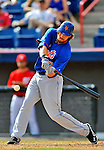 10 March 2012: New York Mets outfielder Adam Loewen in action during a Spring Training game against the Washington Nationals at Space Coast Stadium in Viera, Florida. The Nationals defeated the Mets 8-2 in Grapefruit League play. Mandatory Credit: Ed Wolfstein Photo1