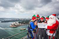 Bridgeclimb - Santa climb 2016