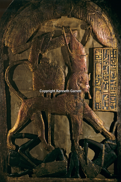 Shield; Ceremonial; KV 62,Tutankhamun and the Golden Age of the Pharaohs, Page 198