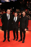 "Adam McKay, Kevin Messick and Christian Bale attending the ""Vice"" Premiere held at Berlinale Palast during 69th Berlinale International Film Festival, Berlin, Germany, 11.02.2019. Photo by Christopher Tamcke/insight media /MediaPunch ***FOR USA ONLY***"