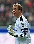 23.10.2010, Commerzbank-Arena, Frankfurt, GER, 1. FBL, Eintracht Frankfurt vs Schalke 04, im Bild Manuel Neuer (Schalke #1), Foto © nph / Roth