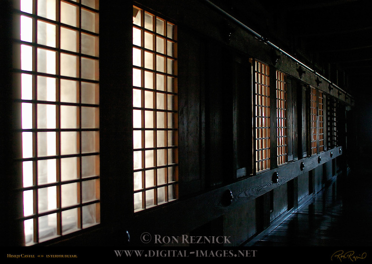 Himeji Castle Interior first floor Shirasagi-jo White Heron Castle Himeji Japan