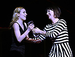 Kristy Altomare and Carmen Cusak on stage at the 73rd Annual Theatre World Awards at The Imperial Theatre on June 5, 2017 in New York City.