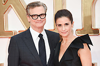 Colin Firth &amp; Livia Firth at the world premiere for &quot;Kingsman: The Golden Circle&quot; at the Odeon and Cineworld Leicester Square, London, UK. <br /> 18 September  2017<br /> Picture: Steve Vas/Featureflash/SilverHub 0208 004 5359 sales@silverhubmedia.com