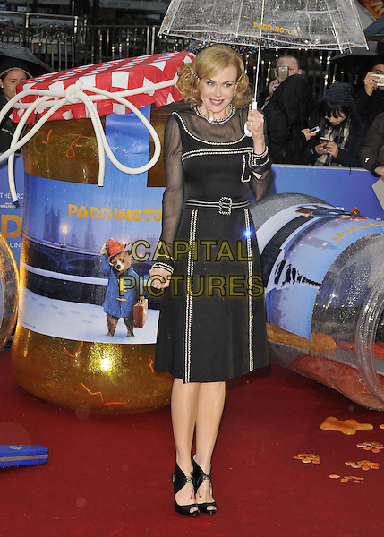 LONDON, ENGLAND - NOVEMBER 23: Nicole Kidman attends the &quot;Paddington&quot; world film premiere, Odeon Leicester Square cinema, Leicester Square, on Sunday November 23, 2014 in London, England, UK. <br /> CAP/CAN<br /> &copy;Can Nguyen/Capital Pictures
