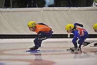 SCHAATSEN: HEERENVEEN: 01-09-2013, Thialf IJsstadion Thialf, Shorttrack Invitation Cup, ©foto Martin de Jong