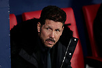 Atletico de Madrid's coach Diego Pablo Simeone during UEFA Champions League match between Atletico de Madrid and Borussia Dortmund at Wanda Metropolitano Stadium in Madrid, Spain. November 06, 2018. (ALTERPHOTOS/A. Perez Meca)