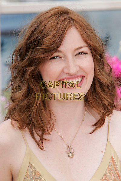 "KELLY MacDONALD.""No Country for Old Men"" photocall, 60th International Cannes Film Festival, Cannes, France, .May 19th, 2007.portrait headshot gold necklace mcdonald .CAP/DAR.©Darwin/Capital Pictures"