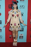 HOLLYWOOD, LOS ANGELES, CA, USA - OCTOBER 05: Melanie Martinez arrives at the Los Angeles Premiere Screening Of FX's 'American Horror Story: Freak Show' held at the TCL Chinese Theatre on October 5, 2014 in Hollywood, Los Angeles, California, United States. (Photo by Celebrity Monitor)