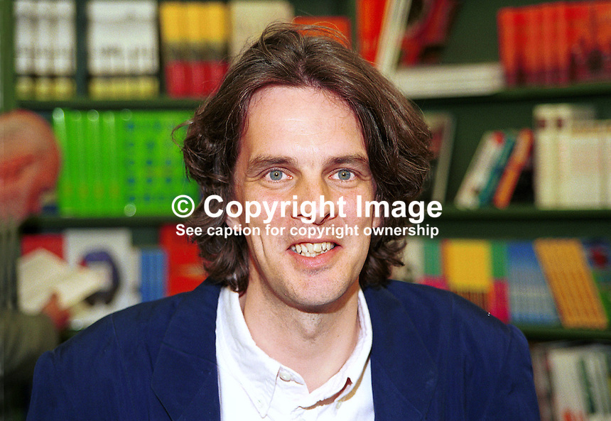 Peter Stanford, writer, journalist, broadcaster,historian and biographer, former editor, Catholic Herald, London, Britain, UK. .Taken at or during Hay Book Festival. Ref: 200005214..Copyright Image from Victor Patterson, 54 Dorchester Park, Belfast, UK, BT9 6RJ..Tel: +44 28 9066 1296.Mob: +44 7802 353836.Voicemail +44 20 8816 7153.Skype: victorpattersonbelfast.Email: victorpatterson@mac.com.Email: victorpatterson@ireland.com (back-up)..IMPORTANT: If you wish to use this image or any other of my images please go to www.victorpatterson.com and click on the Terms & Conditions. Then contact me by email or phone with the reference number(s) of the image(s) concerned.