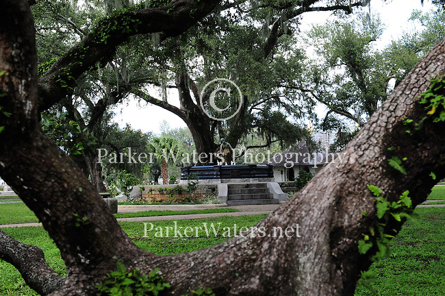 Located in New Orleans, City Park is known for it's many beautiful and centuries old oak trees.