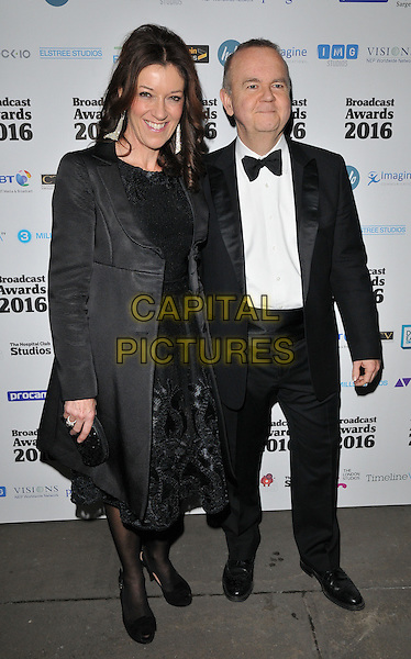 Victoria Hislop &amp; Ian Hislop attend the Broadcast Awards 2016, Grosvenor House Hotel, Park Lane, London, UK, on Wednesday 10 February 2016.<br /> CAP/CAN<br /> &copy;Can Nguyen/Capital Pictures