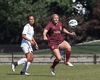 Boston College Women's Soccer vs. Virginia Tech, September 22, 2013