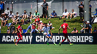 Carson, CA - July 14, 2016: FC Dallas U-15/16s advanced to the 2016 U.S. Soccer Development Academy Final thanks to a 1-0 victory against the Chicago Fire U-15/16.