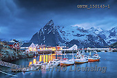 Tom Mackie, LANDSCAPES, LANDSCHAFTEN, PAISAJES, Christmas symbols, Weihnachten Symbole, Navidad sí, photos,+EU, Europa, Europe, European, Hamnoy, Lofoten Islands, Norway, Norwegian, Scandinavia, Scandinavian, arctic, boat, boats, cab+in, cloud, clouds, coast, coastal, coastline, coastlines, dramatic, dramatic outdoors, dusk, fishing boat, fishing hut, fjord+harbor, harbour, horizontal, horizontals, mood, moody, mountain, mountainous, mountains, peak, port, red, skies, sky, storm+clouds, time of day, twilight, water, water's edge, weather,EU, Europa, Europe, European, Hamnoy, Lofoten Islands, Norway, N+,GBTM150145-1,#L#