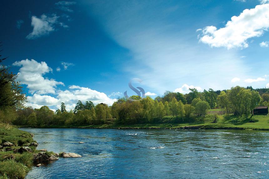 The River Dee near Banchory